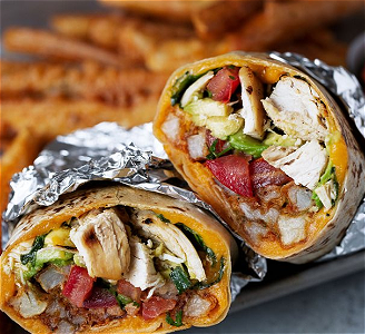 Foto Burrito Chicken